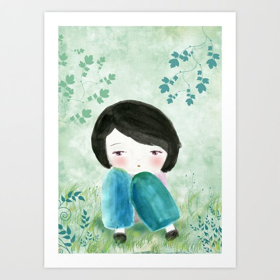 Nature, my soul Art Print