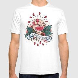 Barbarian - Vintage D&D Tattoo T-shirt