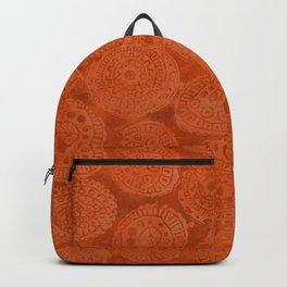 Tribal Terracota Rounds Backpack