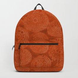 Tribal Terracota Rounds Backpack