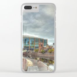 Barclaycard Arena and the Malt House Pub Clear iPhone Case