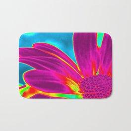 Flower | Flowers | Neon Daisy Bath Mat