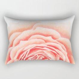 Flower, Big Rose Rectangular Pillow