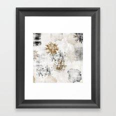 Sandy FLOW Framed Art Print