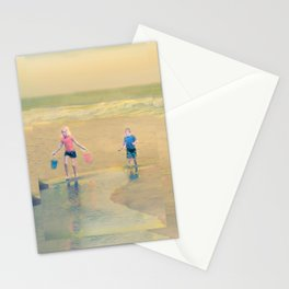 Jack and Jill and Pails Stationery Cards