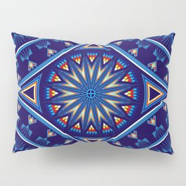 Blue Fire Keepers Pillow Sham