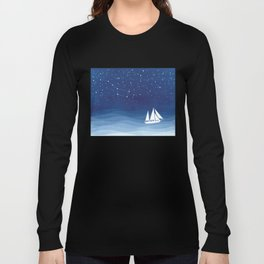 big dipper, sailboat Long Sleeve T-shirt