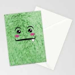 Children imaginary furry friend GREENO (Chibi Palz cute companion) Stationery Cards