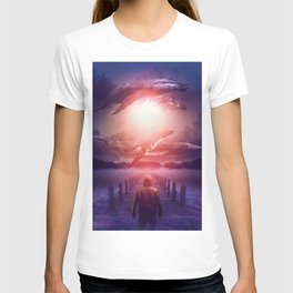 The Space Between Dreams & Reality T-shirt