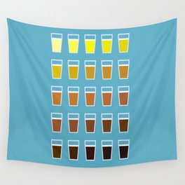 The Colors of Beer Wall Tapestry