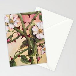 Vanilla Rose III Stationery Cards