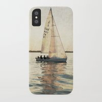 sailing iPhone & iPod Cases featuring Sailing by Mary Kilbreath