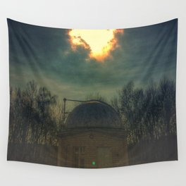 little old observatory Wall Tapestry