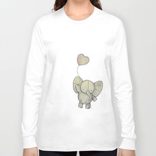 Cute Elephant II Long Sleeve T-shirt