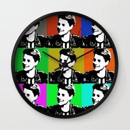 jace norman print art Wall Clock