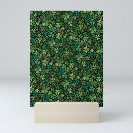 Luck in a Field of Irish Clover Mini Art Print