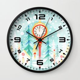 Christmas clock Wall Clock