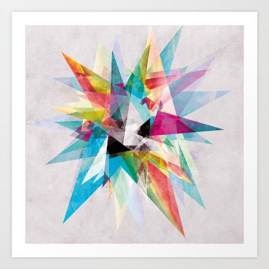 Colorful 2 XZ Art Print