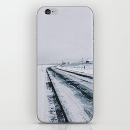 Icy Road iPhone Skin