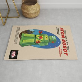 Atom The Toy Robot Rug
