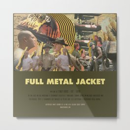 Full Metal Jacket - Stanley Kubrick Metal Print