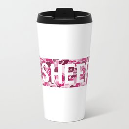 sheep camo Travel Mug