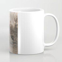 Engulfed House with Vines (Untitled Sepia 2) Mug