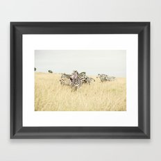 leader::kenya Framed Art Print