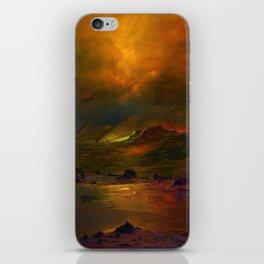 Bergglühen iPhone Skin