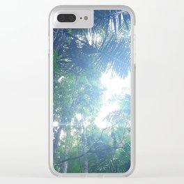 Jungle View Clear iPhone Case