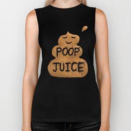 Poop Juice Biker Tank