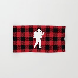 Buffalo Plaid - Soldier Hand & Bath Towel