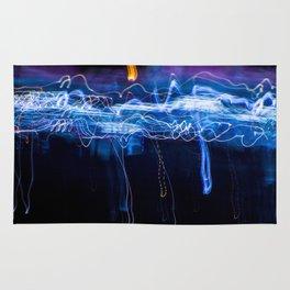 Neon Rain Cloud Rug