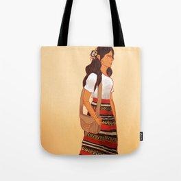 Maldivian Girl Tote Bag