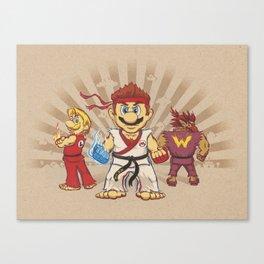 Smash Brotherhood Canvas Print