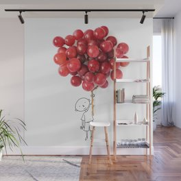 Boy with grapes - NatGeo version Wall Mural