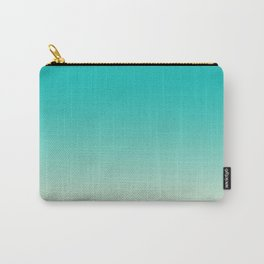 Faded Turquoise Carry-All Pouch