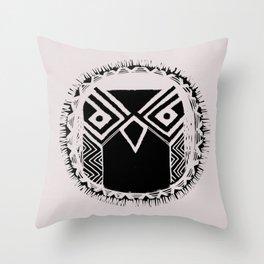 OWL - mark Throw Pillow
