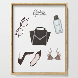 Fashion essentials Serving Tray