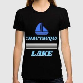 Chautauqua Lake NY prints, Chautauqua Lake NY designs graphic T-shirt