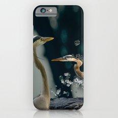Great blue herons iPhone 6s Slim Case