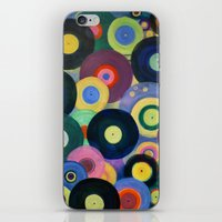 record iPhone & iPod Skins featuring Record High by Femi Ford