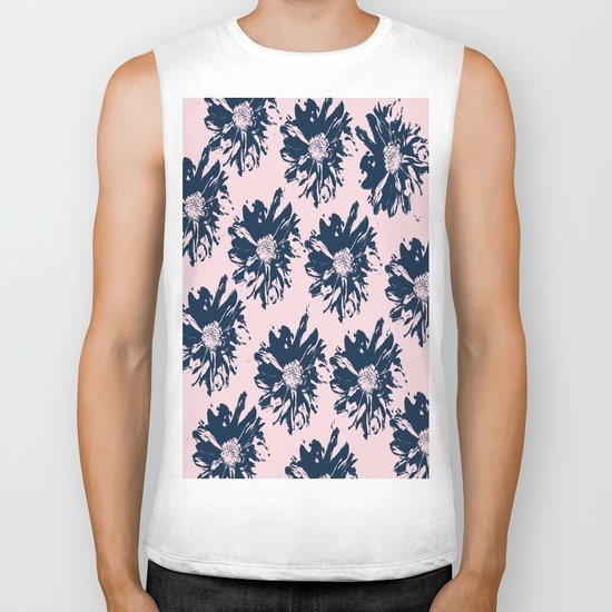Abstract pattern Biker Tank