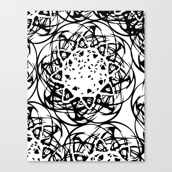 HOLLER OUT Canvas Print