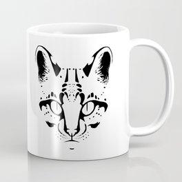 Wild Cat Ocelot Coffee Mug
