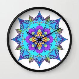 Mandala 1 Wall Clock