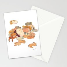 Dream of the bunny lover Stationery Cards