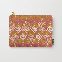 lotus diamond pink Carry-All Pouch