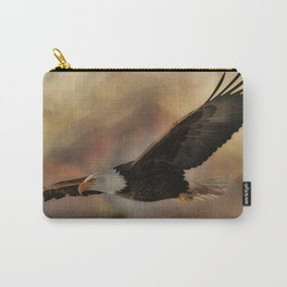 Eagle Flying Free Carry-All Pouch