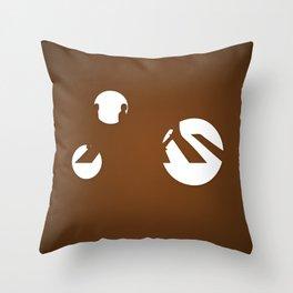 A.... ...D Throw Pillow